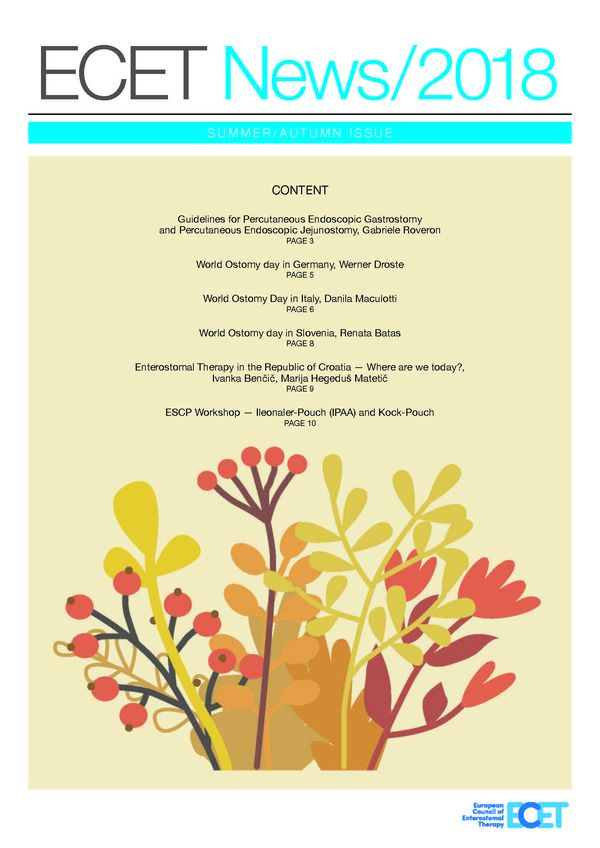 Download ECET Newsletter Autumn 2018